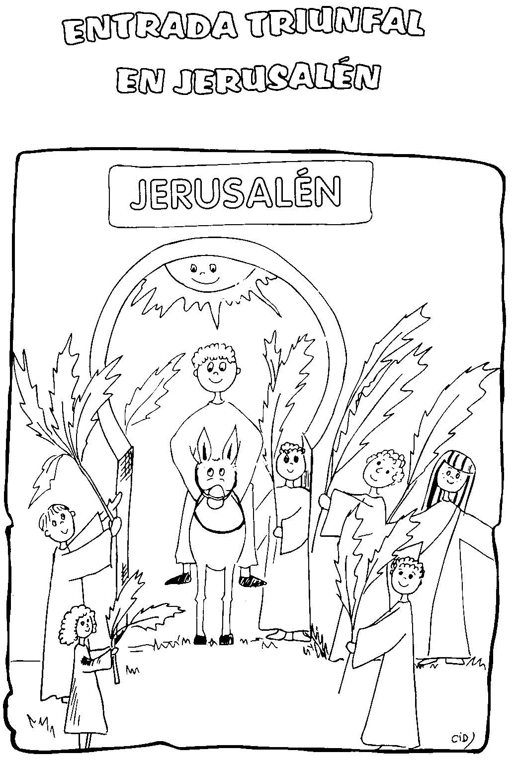 Culto Infantil: Entrada triunfal a Jerusalen