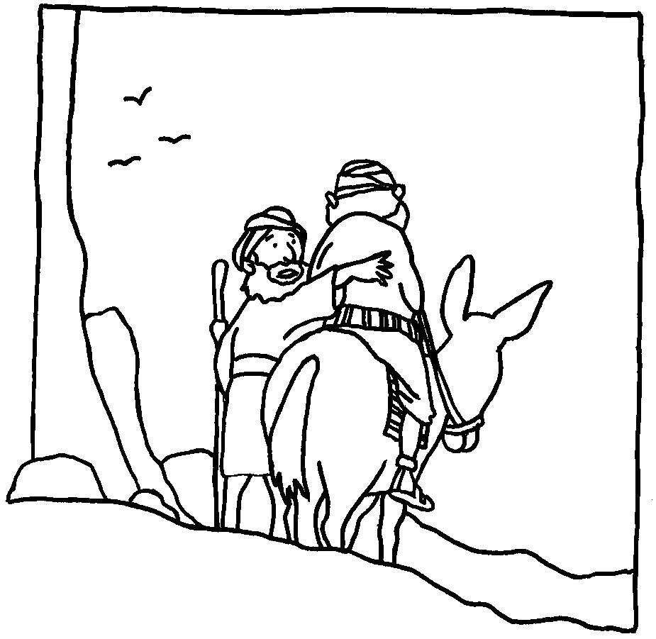 El Buen Samaritano en comic | Compartiendo Aula