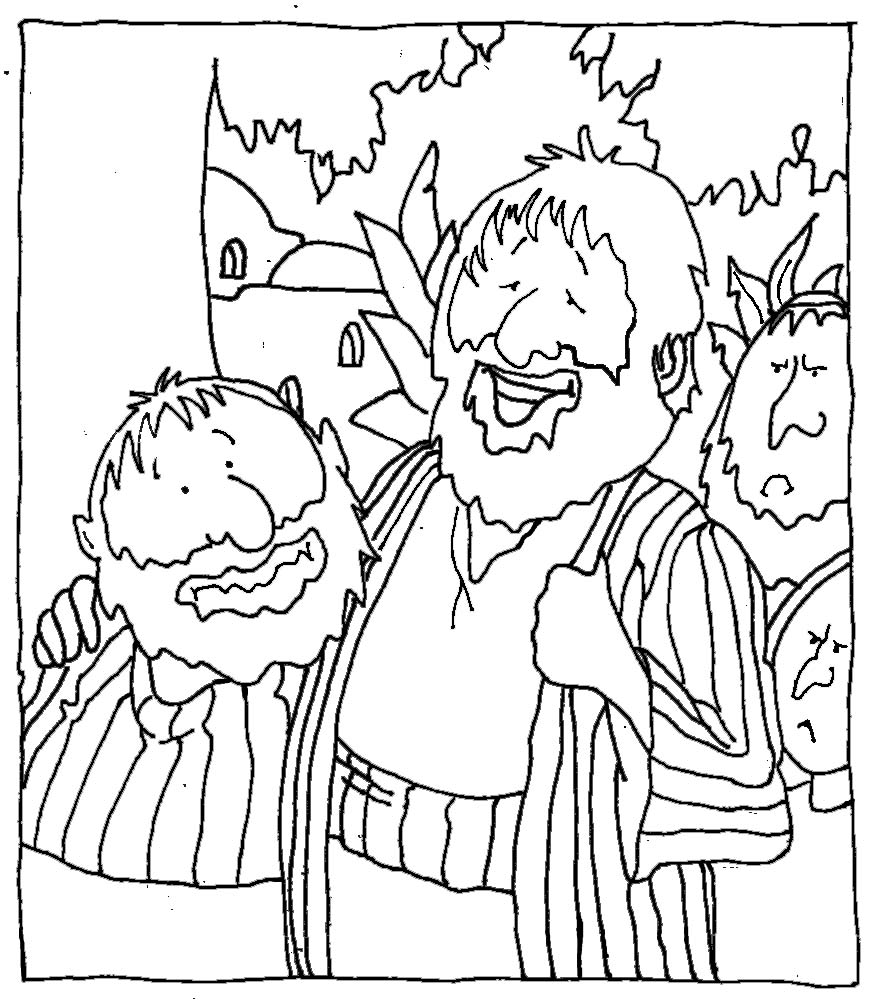 zaqueo coloring pages - photo #23